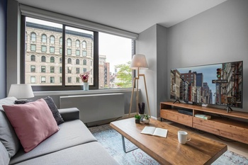 Spectacular Furnished 1 Bedroom Greenwich Village Outdoor Lawn No Fee